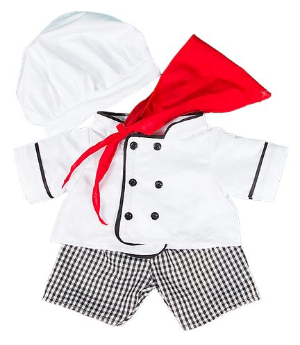 Chef Outfit 16 inch - Pre-order