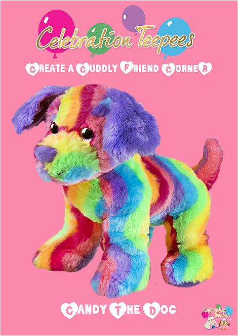 Rainbow The Dog 8 inch