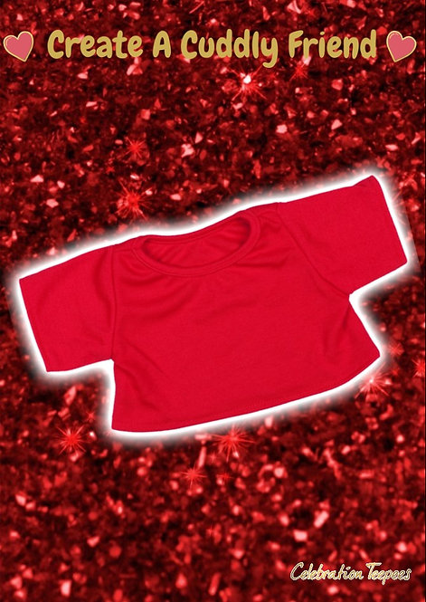 Red T-Shirt 8 inch