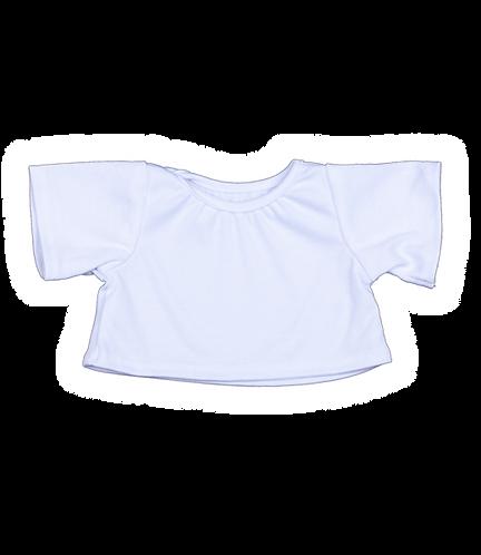 White T-shirt 16 inch