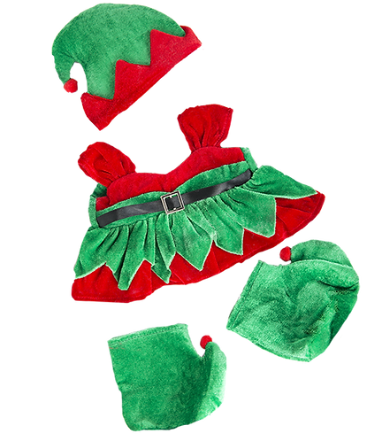 Girl Elf Costume 16 inch