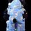 Thumbnail: Blue Snoman Onesie 8 inch