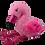 Thumbnail: Flo The Fluffy Flamingo 16 inch