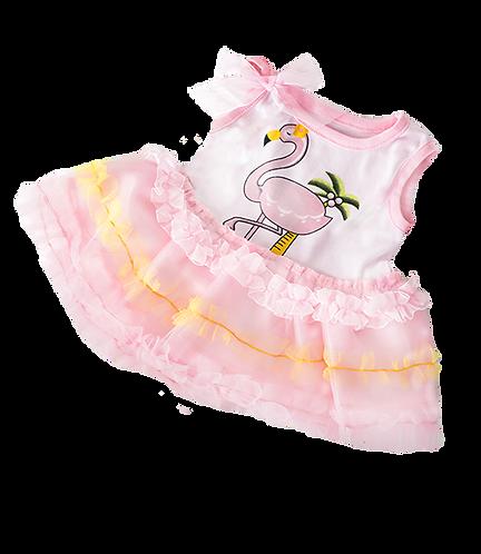 Flamingo Dress 16 inch - pre-order