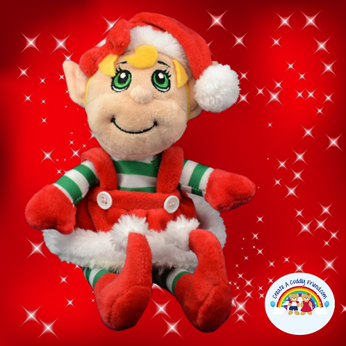 Belle The Elf 8 inch Christmas Eve Box Filler Pack