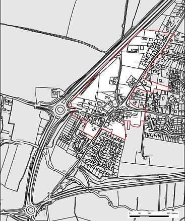 Scole Map - Conservation Area