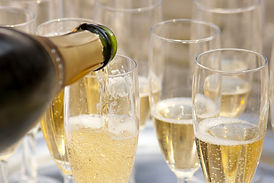 Champagne tasting on a barge cruise on Serenity Barge