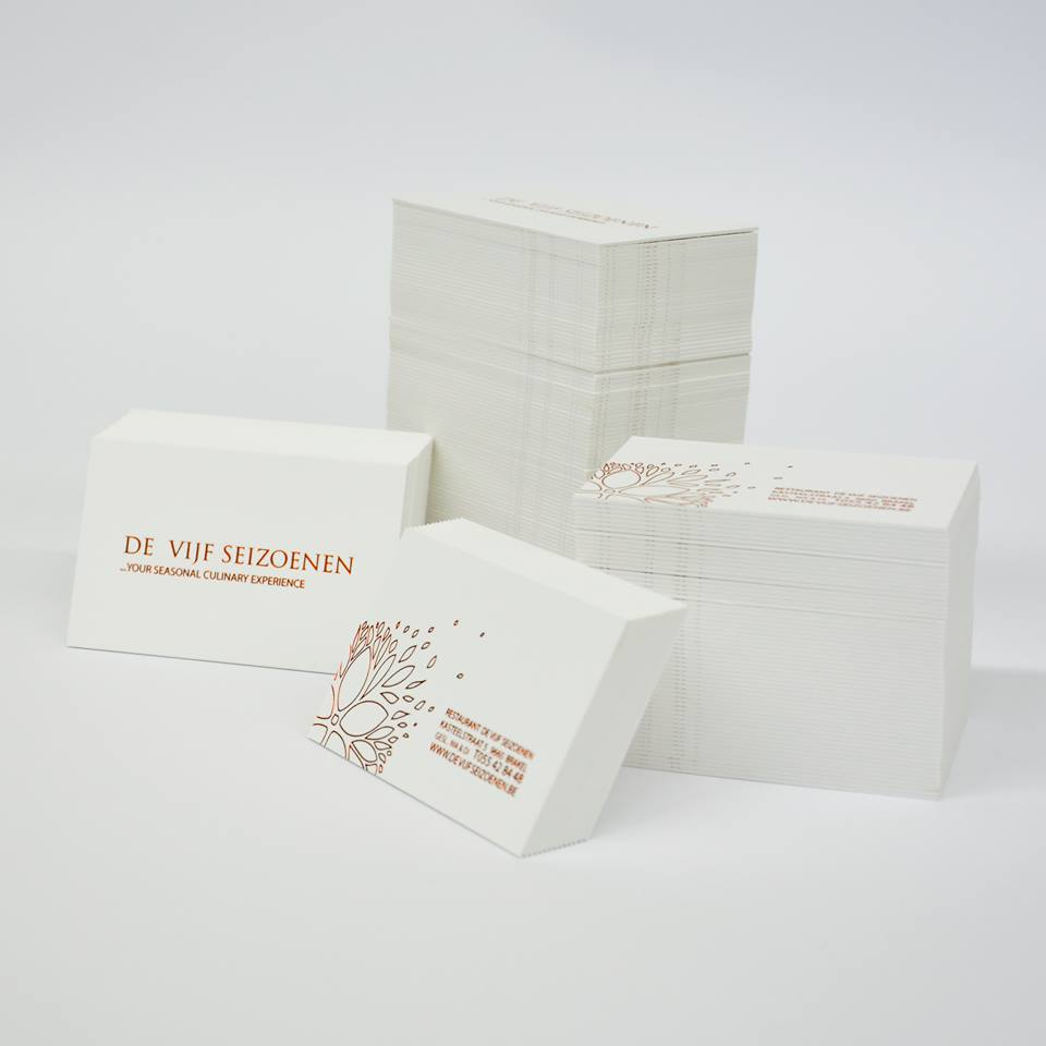 Letterpress - Koperfolie