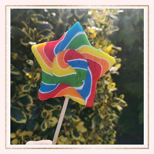 Large Star Lollipop
