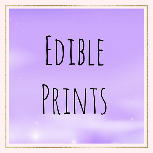 Edible print (PLEASE DO NOT ORDER UNLESS INSTRUCTED)