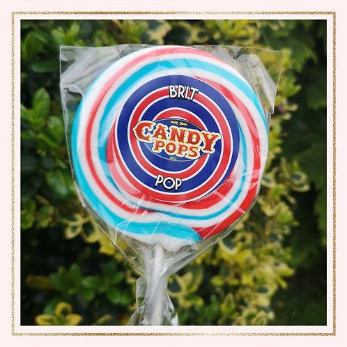Large Brit Pop Lollipop