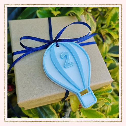 Hot Air Balloon gift tag