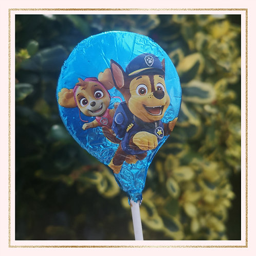 Paw Patrol chocolate Lollipop