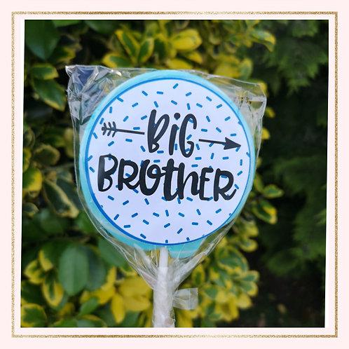 Personalised 'Big Brother' Lollipop