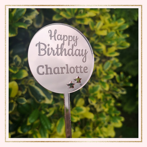Mini personalised Paddle topper