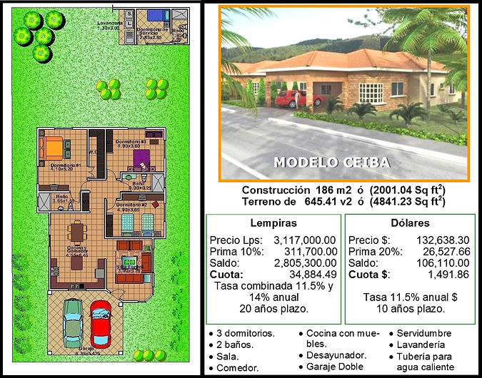 Casa Modelo Ceiba Campisa