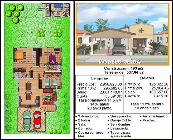 Casa Modelo Ceiba