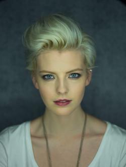 New York makeup artist beauty look