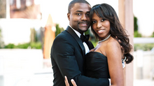 Real Fusion Wedding in {Brooklyn}: Farrah + Abiola – and the Bride Wore BLACK!