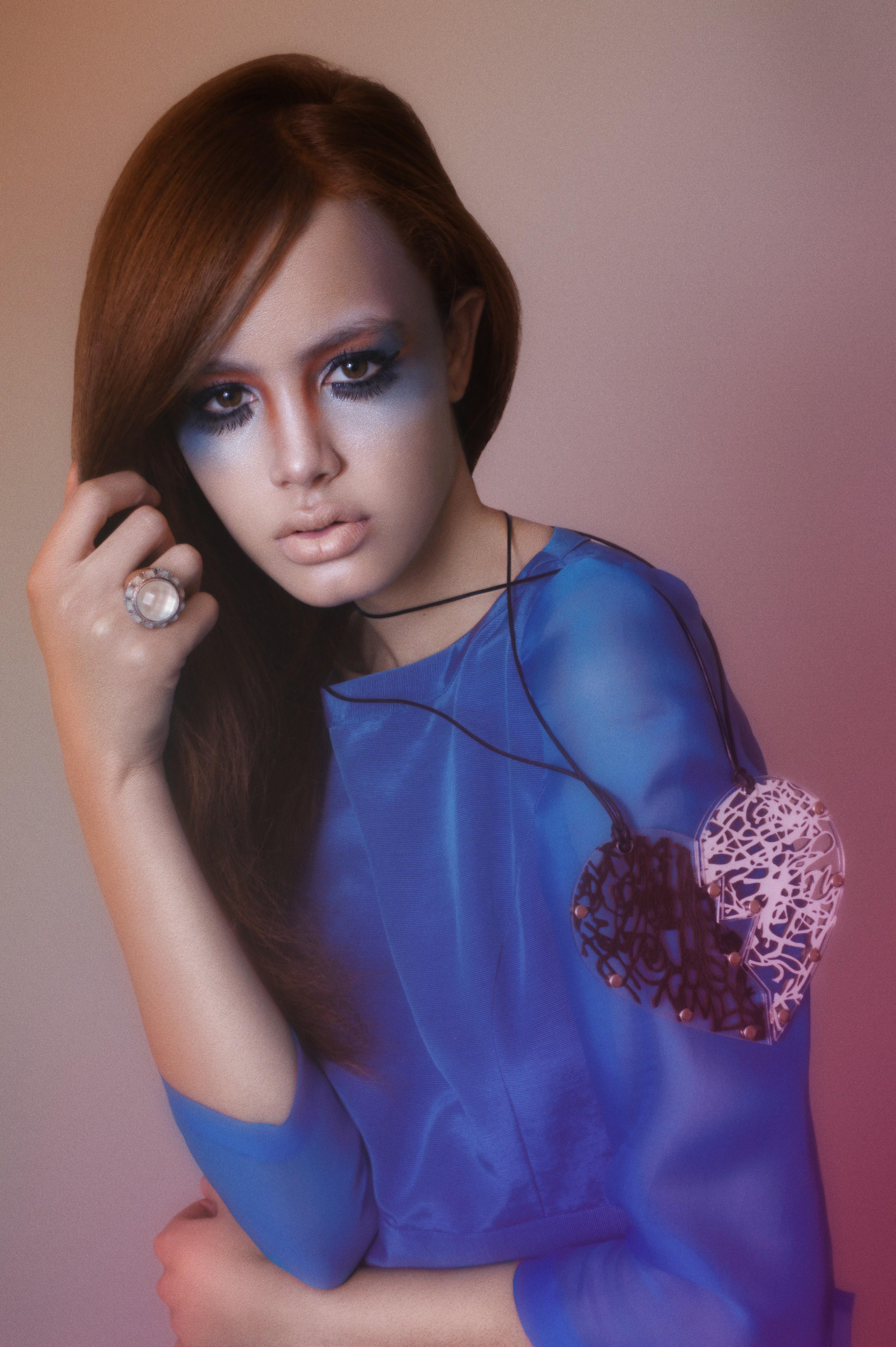 runway makeup trend
