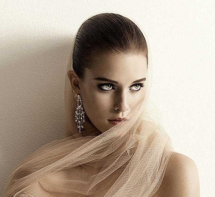 elegant bridal look by evapatel