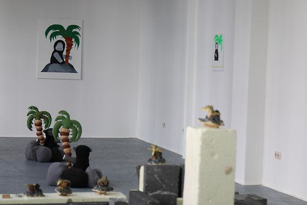 daniel von bothmer, ausstellung, kunst, art, sculpture, painting
