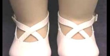 CROSSED ANKLE STRAP SHOES #770