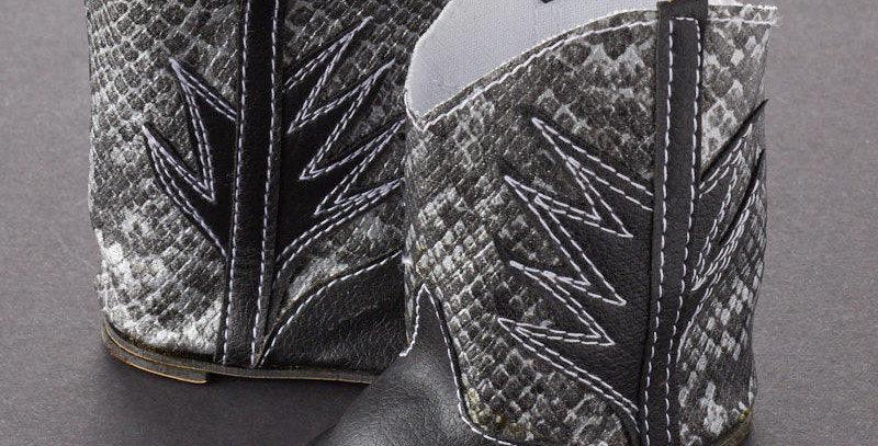 COWBOY BOOTS Snakeskin #T0501