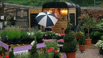 Ginception at the Four Seasons Garden Centre Darwen - BBQ in the rain