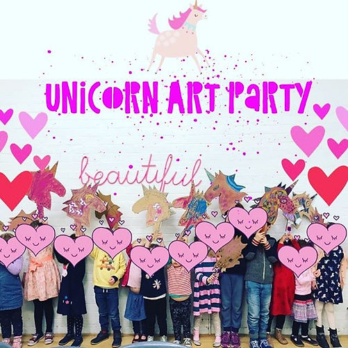The sweetest little unicorn themed art p