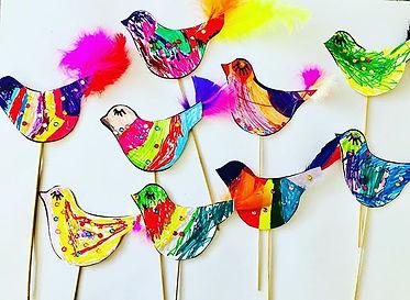 Christmas partridges!🕊🎄💕 #artidea#par