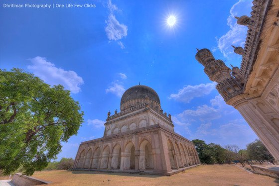 Qutb Shahi Tombs - Staring Onto Death