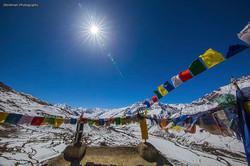 The Dhankar Monaster - Winter Spiti