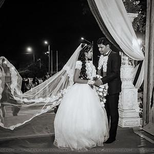 Sugandini & Prashanth - A Church Wedding