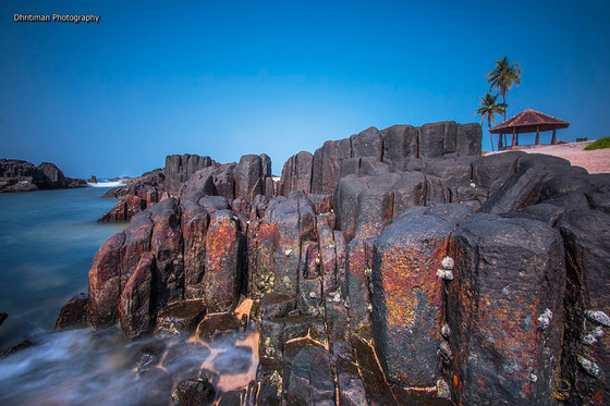 St. Mary's Island - A Geological wonder of India.