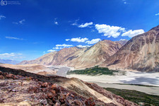 Nubra Valley View Point
