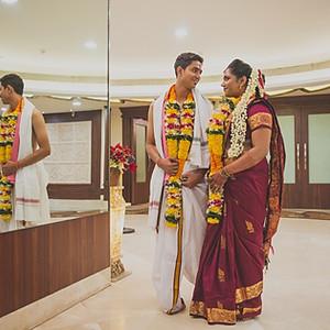 Brenen & Vamshi - Arya Samaj Wedding