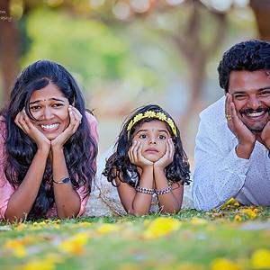 Mrithika & Krishiv's Diaries -Family Photoshoot