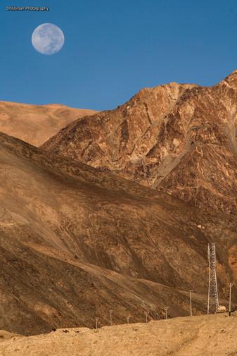 Full Moon In Ladakh