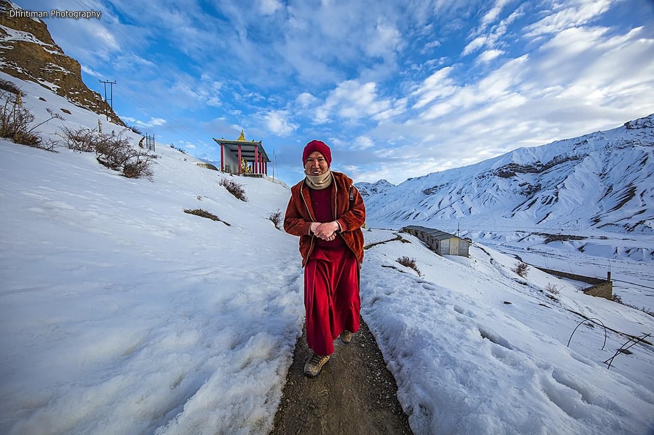 The Monk - Spiti