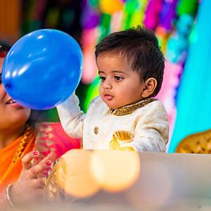 Dhruvan 1st Birthday