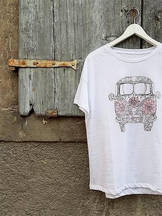 T-shirt Van bianca o lime