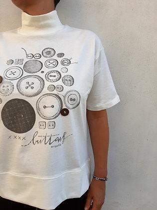 "T-shirt ""bottoni"""