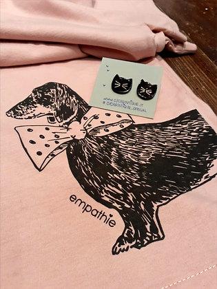 orecchino + t-shirt per le più romantiche