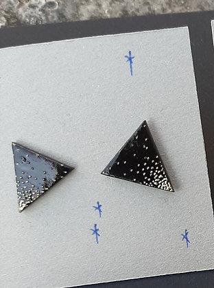 orecchino  triangolo 3 colori