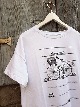 T-shirt bycicle