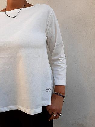t- shirt basic bianca