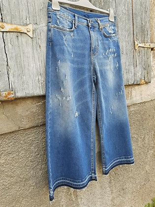 Jeans 3/4 elasticizzato