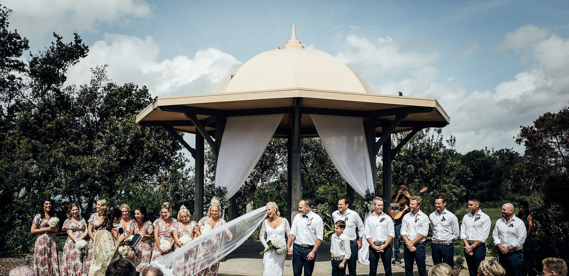 Cameron + Bree say I Do at Coogee Beach