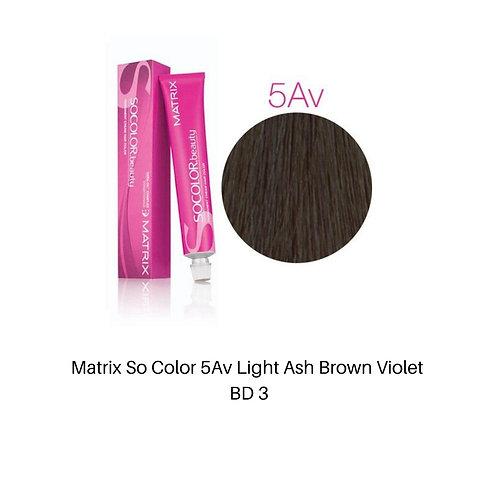 Matrix So Color 5Av Light Brown Ash violet